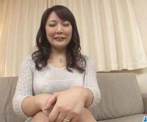 Hinata Komine dazzling POV toy porn casting - 12 min
