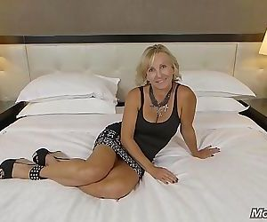 All Natural Big Tits Czech MOM First Porn and Facial Ever POV 12 min HD+