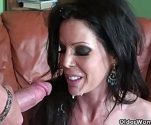 Skinny milf Tabitha Stevens gets fucked and facializedHD