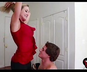 Brandi Love shows us her amazing big boobs and fucks hard - MilfyMom.com - 2 min