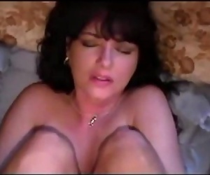 Amateur wife ass fuck and creampie 8 min