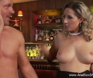 Blonde MILF Outrageous Anal SexHD