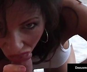 Super Hot Milf, Deauxma & Hubby Have Great Oral & Anal Sex!HD+
