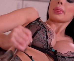Sultry moments of pure pleasure and lust for masturbation pro Aletta Ocean 12 min