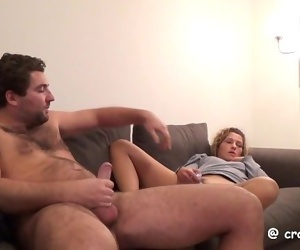 Masturbations watching our threesome videos