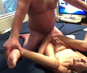 Hot MILF Awesome Blow Facefuck Fucking Ending In Big Creampie Great View