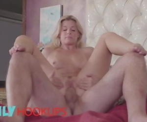 Family Hookups- Fit blonde stepmom India Summer