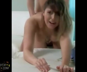 Hot Wendy Screaming when she cumming with me