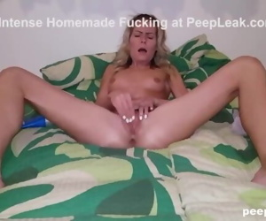 Rubbing Her Clit to Orgasm While BF is Filming
