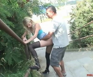Fucking Outdoor With Stranger