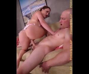 PornSlap - Milf Takes Huge Load On Her Tits