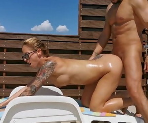 Horny Amateur Oil Anal Sex . Outdoor Anal Creampie. WetKelly