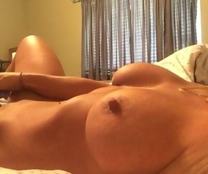 Trophy Wife Masturbates for Boyfriend