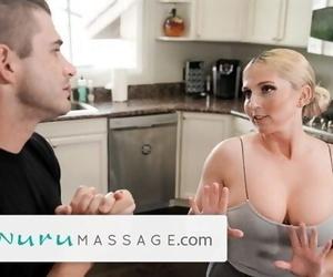 NuruMassage Cheating on Wifey with her MILF Momma!