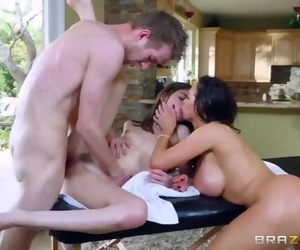 Sexy Threesome Massage - Brazzers