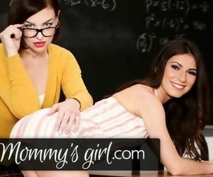 My Stepmom is also my Teacher & im a Hot Virgin 4 her
