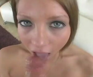 Teen Blowjob Fuck and Facial