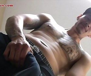 Latin guy with big Latin cock
