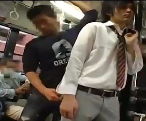 Gay sex on bus in Japan