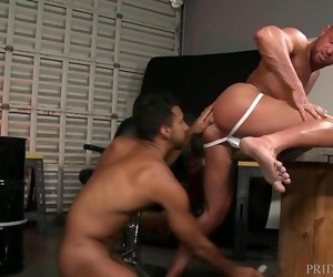 ExtraBigDicks Large Meat Comes Out of Jock Strap to Fuck Hunk DILF Ass