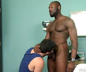 PrideStudios Surprising My Big Black Dick Muscle Hunk At Work
