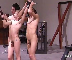 Bondage Boy Gets Punished