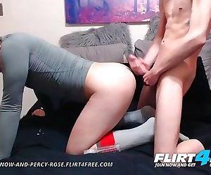 Sebastian and Percy on Flirt4Free - Hot Twink Barebacks His Best Friend