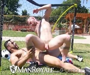 ManRoyale World cup celebration backyard ROMP with hunks