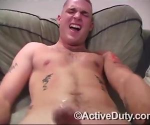 Active Duty Handjob