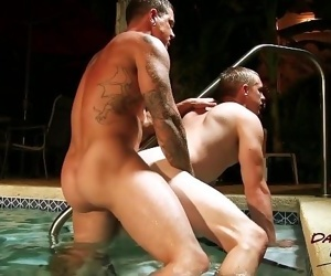 Zane Anders Flip-flops Bare with Sebastian Young