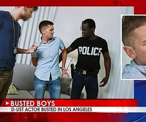 Busted Boys - Conner Mason - Man-whore Hammered by BBC