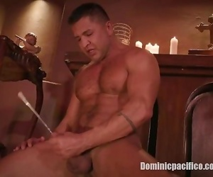 Dominic Pacifico is a Priest Possessed and Sounding His Big Cock