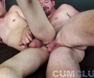 CumClub: Daddy Teaches Young Pup - Raw 1