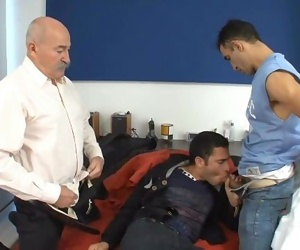 Two Daddies hire an Escort
