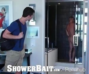 ShowerBait Double trouble shower fuck
