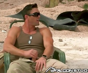 Commanding Officer Ryan Rose Fucks on Combat Zone