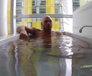 Johnny Sins Solo in Bath Tub
