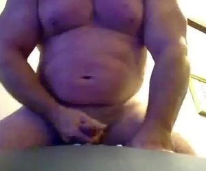Muscle Bear cumshots