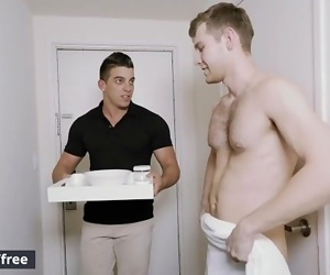 Men.com - Jacob Peterson and Jacob Taylor - Honeymoon For One Part 2 -