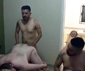 Thug Couple Fucking me in an Orgy