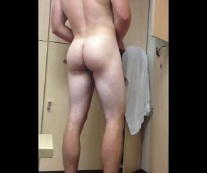 College Guys Shower Spy