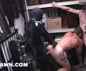 GAY PAWNWe Paid Our New Employee To Fuck A Gimp In The Backroom 12 min 1080p