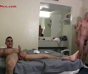 Hot latino thugs fuck each other tight culos bareback
