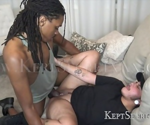 HOT TRANSMAN GETS POUNDED RAW BY BIG BLACK DICK THEN BREEDING KEPTSECRETXXX