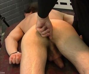 Direct prostate stimulation had Zack Randall on the edge of orgasm