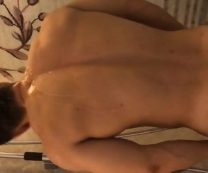 Chinese Personal Trainer Jerk off