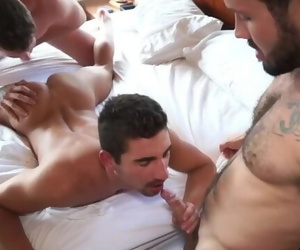 Bi Gay Threesome - Jeff and Atticus take Turns with Lukas