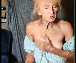 Granny Rails Youthful Neighbor Till He Fills Her Up 3 min