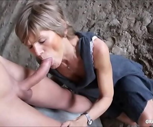 Grandmams just string up youthful shaft compilation..