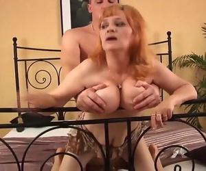 Lush 70 years old mom former boyfriend fucked 12 min